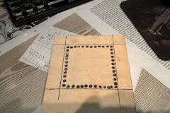 Готовлюсь к созданию прорези для матрицы